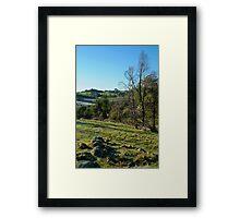 Morning Frost, Strathbogie Ranges,Victoria Framed Print
