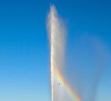 Captain Cook Memorial Jet (water jet), Canberra, Australian Capital Territory by Dave P