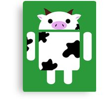 Droidarmy: Who let the cows out? Canvas Print