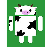 Droidarmy: Who let the cows out? Photographic Print