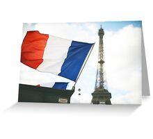 Paris, France Greeting Card