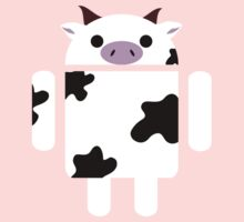 Droidarmy: Who let the cows out? Baby Tee