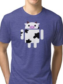 Droidarmy: Who let the cows out? Tri-blend T-Shirt