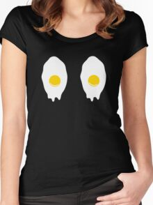 Fried Eggs Women's Fitted Scoop T-Shirt