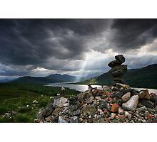 Loch Lyone, Scotland Photographic Print