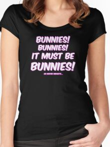 It must be bunnies Women's Fitted Scoop T-Shirt