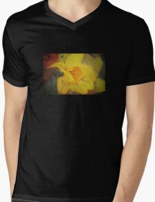 A host of golden daffodils Mens V-Neck T-Shirt