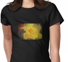 A host of golden daffodils Womens Fitted T-Shirt