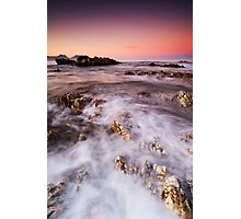 Cotton Candy Dawn Photographic Print