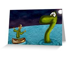 Can u show me the way nessy.... Greeting Card
