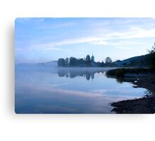 Lac de l'Abbay, Jura, France Canvas Print