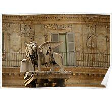 Verona Lion Poster