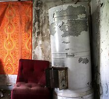 16.5.2015: Armchair and Falling Oven II by Petri Volanen