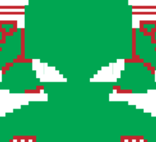 Cthulhu Cultist Christmas - Cthulhu Ugly Christmas Sweater Sticker
