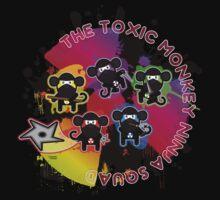 Toxic Ninja Monkey Squad Baby Tee