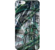 Sail Away - Green iPhone Case/Skin