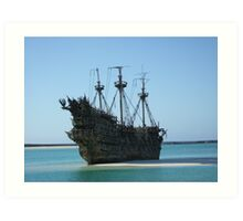 The Flying Dutchman Art Print
