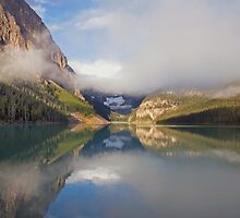 LAKE LOUISE IN THE CANADIAN ROCKIES by Raoul Madden