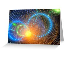 Undiscovered galaxies Greeting Card