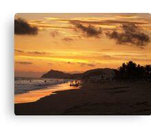 Kino Beach Canvas Print
