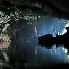 Gigantic Lao cave; where&#x27;s Dave? by John Spies