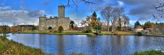 Chateau de Montbrun, Haute Vienne, France by Bob Culshaw