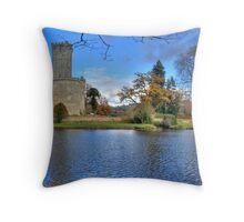 Chateau de Montbrun, Haute Vienne, France Throw Pillow
