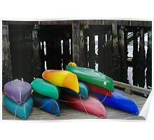 Kayak Kolor Poster