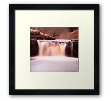 Waterfall, North Yorkshire Framed Print