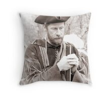 The Longhunter Throw Pillow