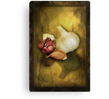 G is for.........Garlic Canvas Print