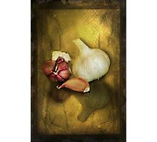 G is for.........Garlic Photographic Print
