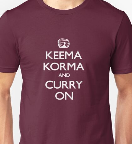 Curry on Unisex T-Shirt