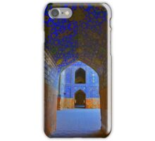 Corridors - Imam Mosque - Esfahan - Iran iPhone Case/Skin