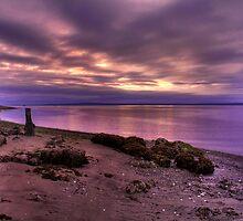 Sunrise at Port Ludlow by John Absher