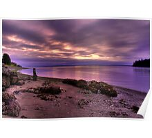 Sunrise at Port Ludlow Poster