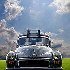 Morris Minor Van  by SHOI Images