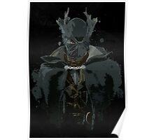 Hunter Splatter - Bloodborne Poster