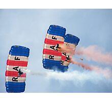 The RAF Falcons Freefall Parachute Display Team 1 Photographic Print