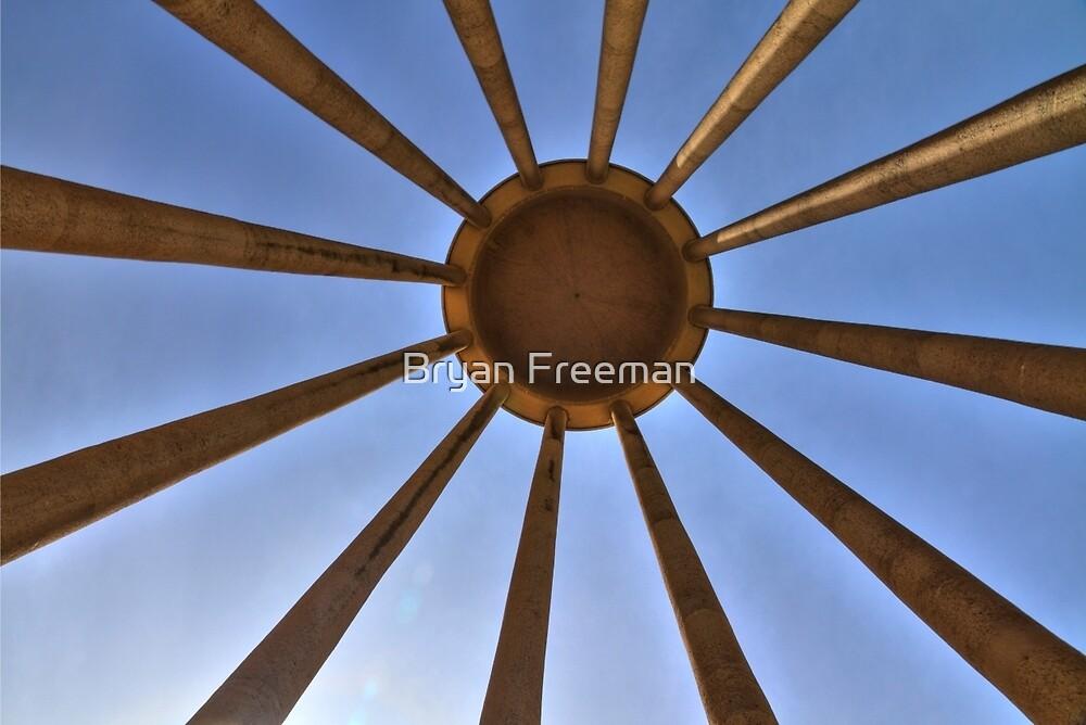 The Tomb of Avicenna (Ibn Sīnā) - Hamadan - Iran by Bryan Freeman