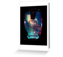 Iron Man Nebula Greeting Card