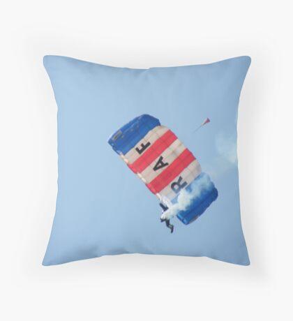 The RAF Falcons Freefall Parachute Display Team 2 Throw Pillow