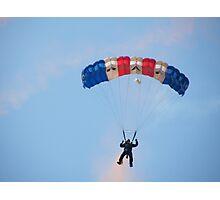 The RAF Falcons Freefall Parachute Display Team 3 Photographic Print