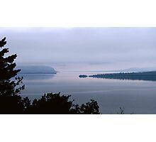 Bay Nipigon into Lake Superior - Hwy 17 - Ontario Photographic Print