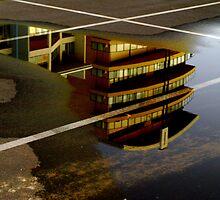 Car Park Reflections by Jon Staniland