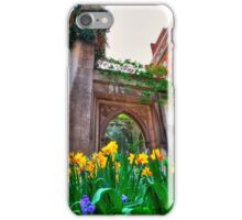 St Dunstan in the East & The Deadly Daffodils - London iPhone Case/Skin