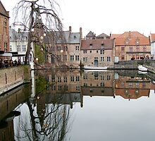 Reflections of Bruges by theblueribbon