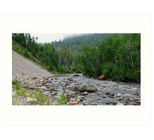 Gravel River - Hwy 17 - Ontario Art Print