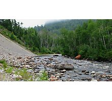 Gravel River - Hwy 17 - Ontario Photographic Print