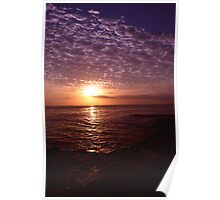 Rainbow Sunsets Poster